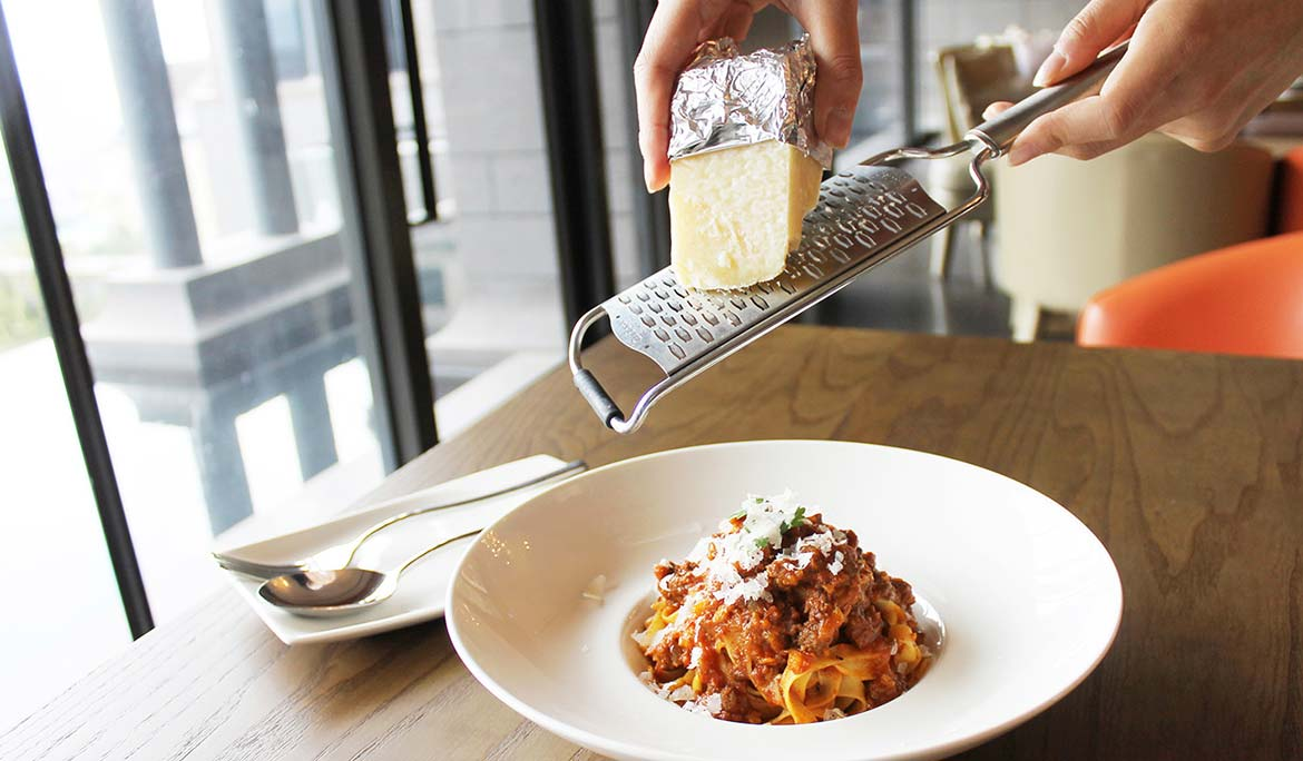 Tagliatelle with Bolognese ( U.S. Beef )