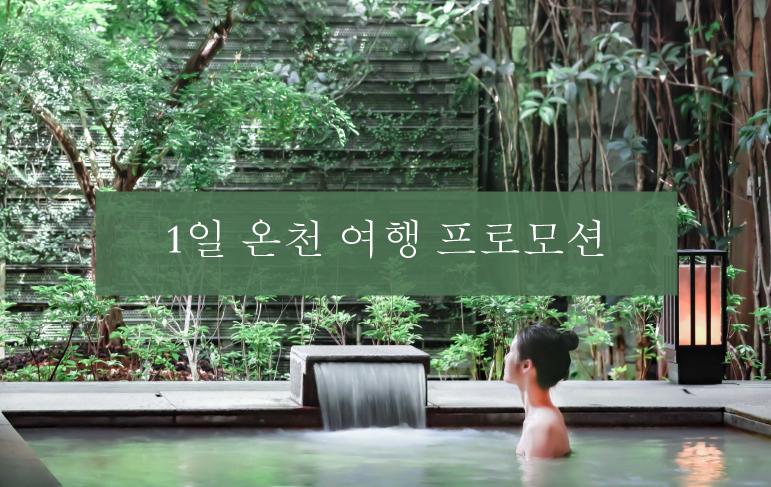 1일 온천 여행 프로모션