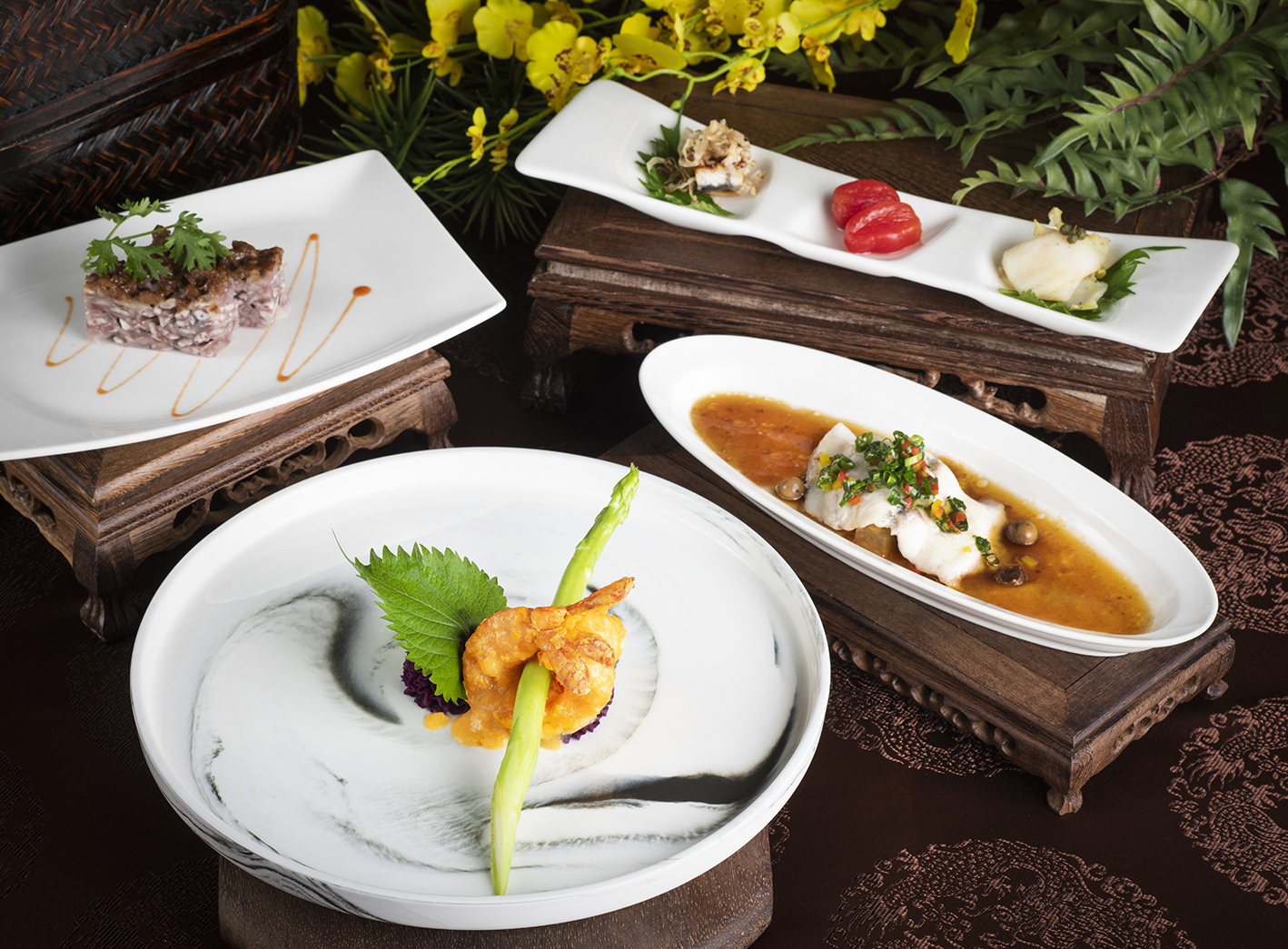金沙海大蝦套餐(午間限定)