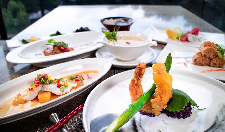 雍翠庭海大蝦套餐